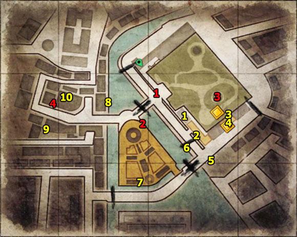 1 - Mission 3   Wine Bottles and Gold Bars - Wine Bottles and Gold Bars - Sniper Elite V2 Game Guide & Walkthrough