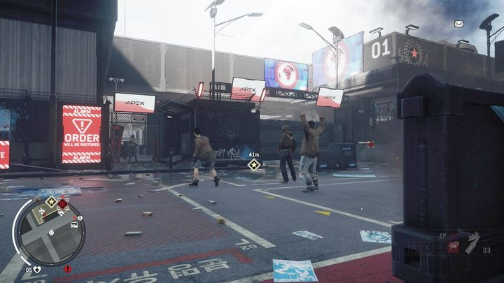 This critical point will be taken over during the mission Assault on Precinct 15 - Earlstone - Yellow zone | Key Points - Key Points - Homefront: The Revolution Game Guide & Walkthrough