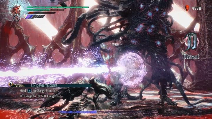 As before, the Crystal that you attack tries to turn into spikes to push you back and Urizen will rain you with projectiles - Urizen (Mission 12) Boss Fight Guide for DMC5 - Bosses - Devil May Cry 5 Guide