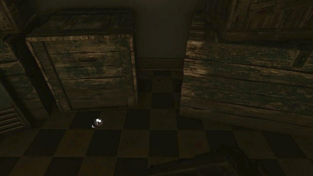 The location of the 1st secret. - Mission 12 - Collectibles - Enemy Front - Game Guide and Walkthrough