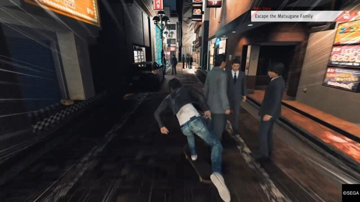 After winning the battle, a mysterious masked man appears and helps you escape - Chapter 2 Beneath the Surface | Judgment Walkthrough - The main storyline - Judgment Guide