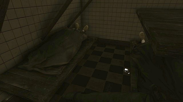The location of the 2nd secret. - Mission 12 - Collectibles - Enemy Front - Game Guide and Walkthrough
