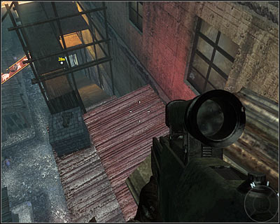 In the final part of the mission you will follow Weaver jumping from one roof onto another - Numb3rs | Intel - Intel location - Call of Duty: Black Ops Game Guide & Walkthrough