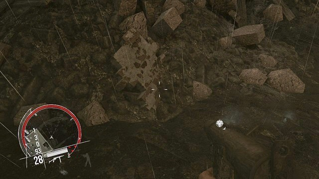 The location of the 4th secret. - Mission 12 - Collectibles - Enemy Front - Game Guide and Walkthrough