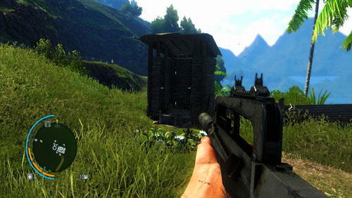 Follow the path to reach the area marked as number one - The Southern Island - North-western part - Letters of the Lost - Far Cry 3 - Game Guide and Walkthrough