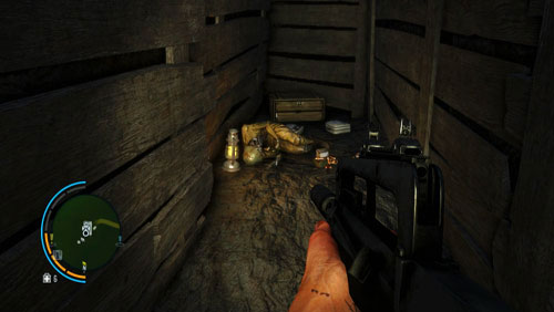 Once down there, reach the other end of the foxhole to find a corpse and the letter - The Southern Island - North-western part - Letters of the Lost - Far Cry 3 - Game Guide and Walkthrough