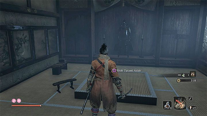 Go down the long corridor and defeat a single archer - Lady Butterfly   Sekiro Shadows Die Twice Boss Fight - Bosses - Sekiro Guide and Walkthrough