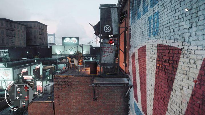 Как только вы достигнете вершины, вам нужно прыгнуть во второе здание в месте, показанном на скриншоте - Earlstone - Желтая зона |  Ключевые моменты - Ключевые моменты - Homefront: руководство к игре Revolution и прохождение
