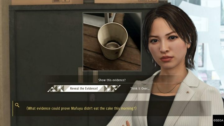 After the cut-scenes, go to a law firm and you will witness a mini court case - Chapter 4 Skeletons in the Closet | Judgment Walkthrough - The main storyline - Judgment Guide