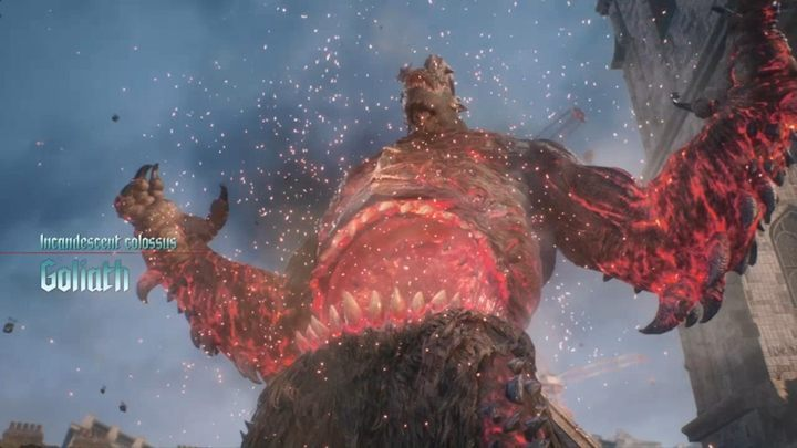 Goliath is more challenging than the previous boss - Goliath Boss Fight Guide for DMC5 - Bosses - Devil May Cry 5 Guide
