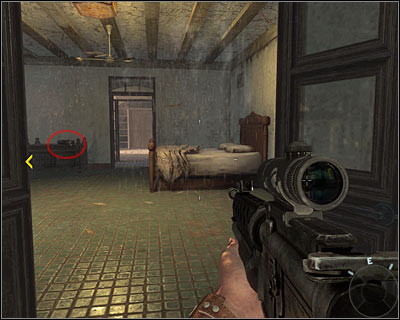 Turn left and enter the bedroom - Operation 40 | Intel - Intel location - Call of Duty: Black Ops Game Guide & Walkthrough