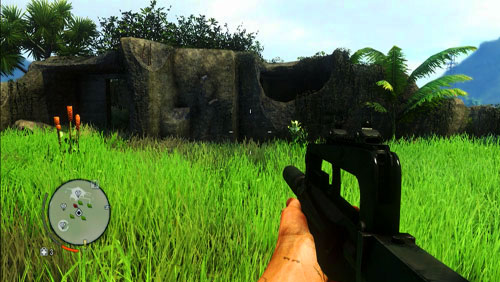 Get to the island marked with number two - The Northern Island - Western part - Letters of the Lost - Far Cry 3 - Game Guide and Walkthrough