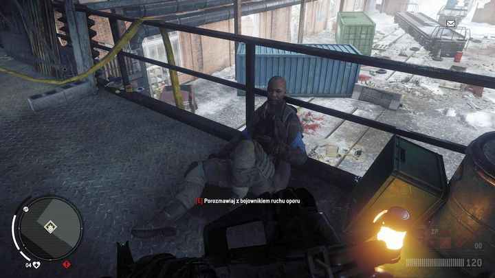 After eliminating all enemies, move to the first floor through the stairs visible on the screenshot - Elmtree - Red zone | Key Points - Key Points - Homefront: The Revolution Game Guide & Walkthrough