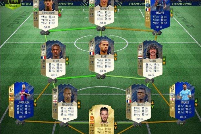 Склад команди Мухи у FIFA 18