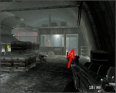 Go to the other side of the hangar and check a small boot in one of the corners - Project Nova | Intel - Intel location - Call of Duty: Black Ops Game Guide & Walkthrough