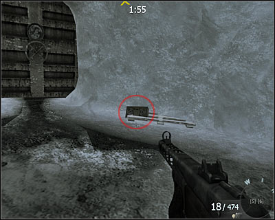 Instead using the stairs, turn right and the secret should be on the ground - Project Nova | Intel - Intel location - Call of Duty: Black Ops Game Guide & Walkthrough