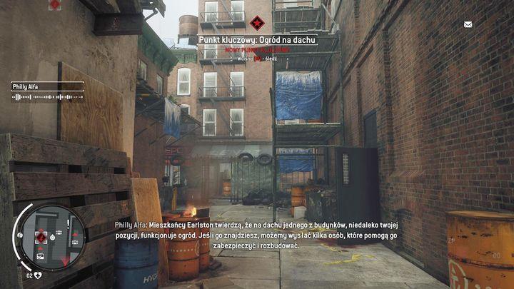 Сад на крыше - вторая точка удара, которую вы можете захватить - Эрлстоун - Желтая зона |  Ключевые моменты - Ключевые моменты - Homefront: руководство к игре Revolution и прохождение