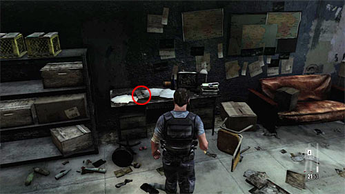 SECRET 2 [Clue 2/6 - Ransom Note]: On the desk in the first storehouse occupied by the enemies - Clues and Golden Guns - Chapter V - Collectibles - Max Payne 3 - Game Guide and Walkthrough
