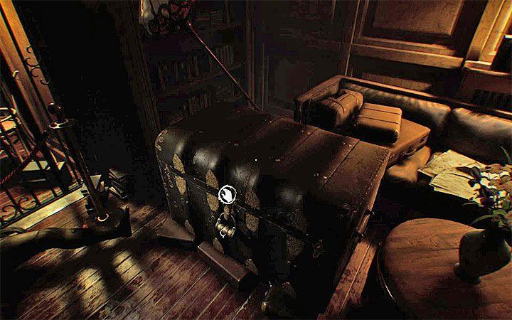 В той же комнате вы также найдете сундук с замком - Третья головоломка с замком Решение загадки в Layers of Fear 2 - Layers of Fear 2 - Руководство по игре