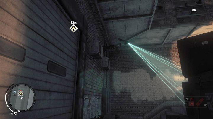 С другой стороны вы найдете камеру наблюдения, которую можно уничтожить с помощью пистолета с глушителем или арбалета - Earlstone - Желтая зона |  Ключевые моменты - Ключевые моменты - Homefront: руководство к игре Revolution и прохождение