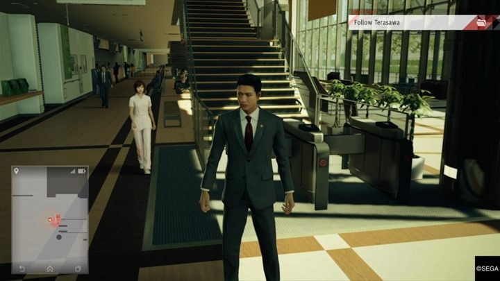 You will find yourself in a place where Iyama lives - Chapter 5 Days Gone By | Judgment Walkthrough - The main storyline - Judgment Guide