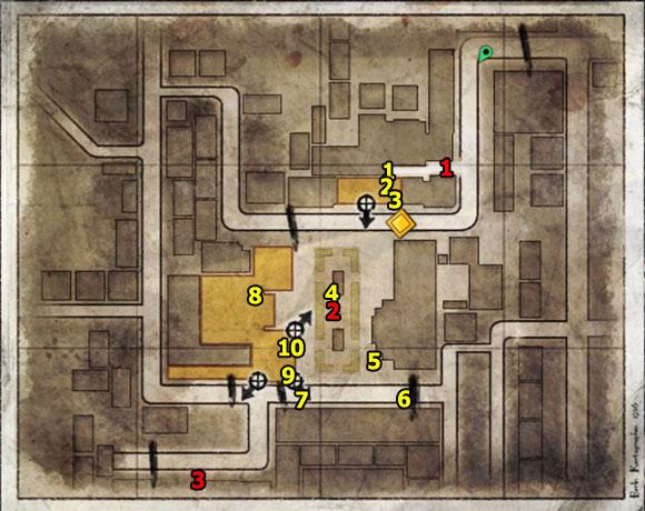 1 - Mission 4   Wine Bottles and Gold Bars - Wine Bottles and Gold Bars - Sniper Elite V2 Game Guide & Walkthrough