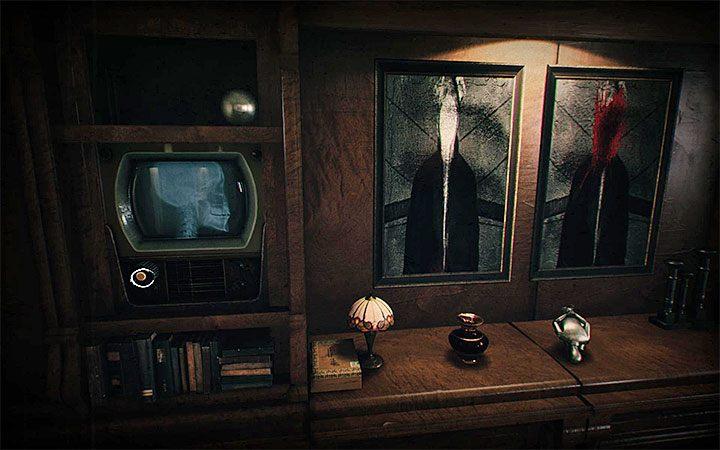 Сначала эта загадка может показаться сложной, но на самом деле она относительно проста - загадка с двумя телевизорами и рентгенами   Загадки в Layers of Fear 2 - Layers of Fear 2 - Руководство по игре и прохождение игры