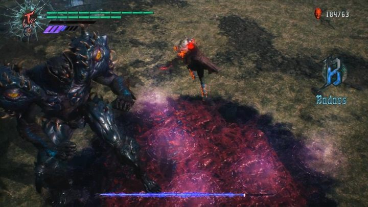 You also have to watch out for beams from above - Urizen (Mission 17) Boss Fight Guide for DMC5 - Bosses - Devil May Cry 5 Guide