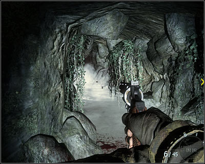 While going through the tunnel at the end of the mission stop and wait until one of Vietcong soldiers attacks you - Victor Charlie | Intel - Intel location - Call of Duty: Black Ops Game Guide & Walkthrough