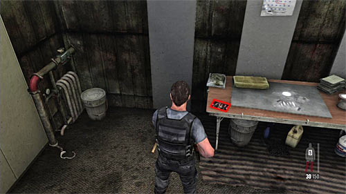 SECRET 7 [Clue 4/6 - Branco Family Photo]: On the table in the small room of the storehouse which is occupied by the thugs - Clues and Golden Guns - Chapter V - Collectibles - Max Payne 3 - Game Guide and Walkthrough