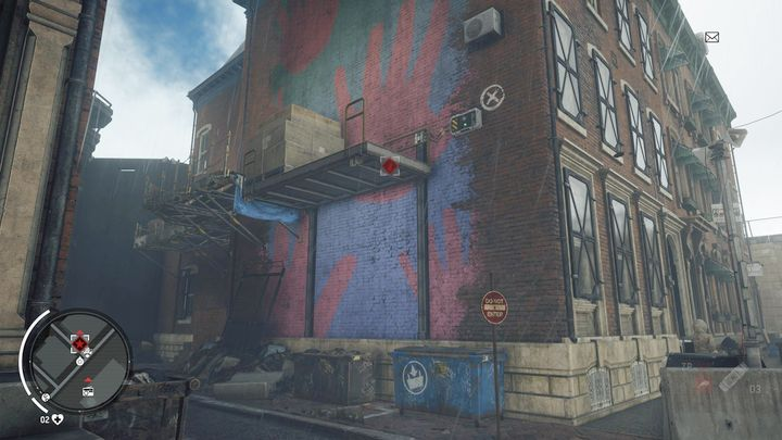 Как только вы доберетесь до места, идите в боковой переулок дома, показанный на скриншоте - Earlstone - Желтая зона |  Ключевые моменты - Ключевые моменты - Homefront: руководство к игре Revolution и прохождение