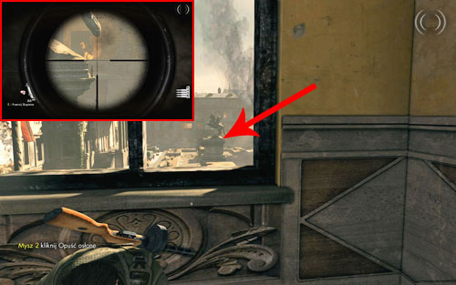 After eliminating all the enemies on the square, you should take a closer look at the horse monument [#2] - on its right side you will find the bottle - Mission 4   Wine Bottles and Gold Bars - Wine Bottles and Gold Bars - Sniper Elite V2 Game Guide & Walkthrough