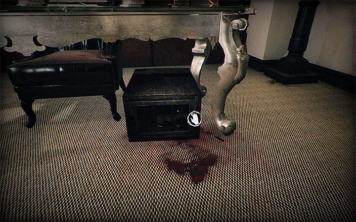 Закончив загадку, вы можете подойти к клетке с крысой и освободить новую душу - Загадка с двумя телевизорами и рентгенами   Загадки в Layers of Fear 2 - Layers of Fear 2 - Руководство по игре и прохождение игры