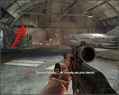 When you reach an airport (at the end of the mission), enter the closest hangar - Operation 40 | Intel - Intel location - Call of Duty: Black Ops Game Guide & Walkthrough