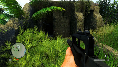 There are two entrances there - The Northern Island - Western part - Letters of the Lost - Far Cry 3 - Game Guide and Walkthrough
