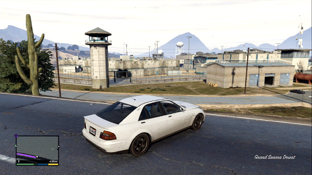 This prison isnt well guarded - Government facilities - The most interesting places - Grand Theft Auto V Game Guide