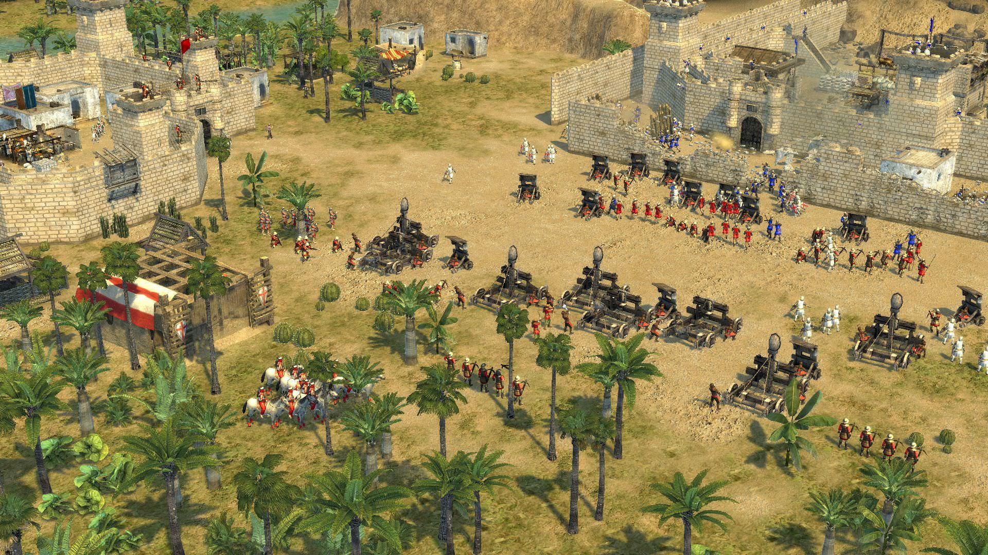 Картинки по запросу Stronghold Crusader - советы новичкам