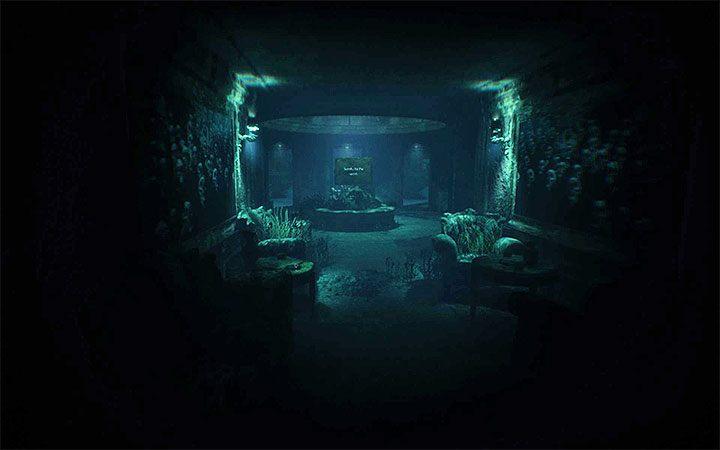 К месту, где стоит двухсторонняя доска, вы доберетесь через несколько минут после начала пятого акта игры - Загадка с двухсторонней доской   Решение загадки в Layers of Fear 2 - Layers of Fear 2 - Руководство по игре
