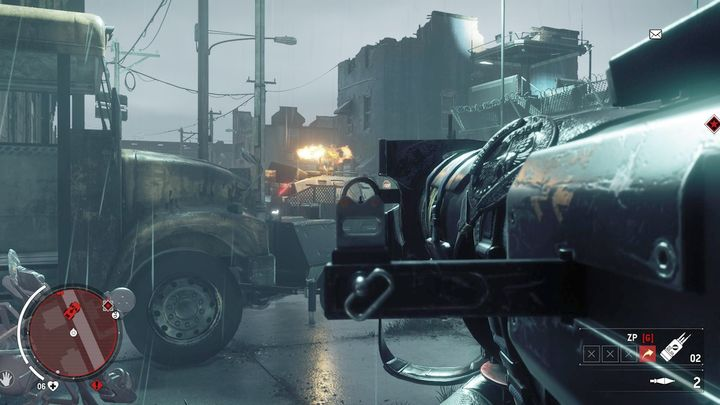 Once you arrive, you will need to eliminate the armored vehicle patrolling the street - Holloway - Red zone | Key Points - Key Points - Homefront: The Revolution Game Guide & Walkthrough