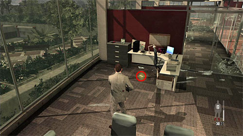 SECRET 1 [Golden Gun - MD-97L Rifle 1/3]: In one of the side office rooms in the area you begin the chapter - Clues and Golden Guns - Chapter VI - Collectibles - Max Payne 3 - Game Guide and Walkthrough