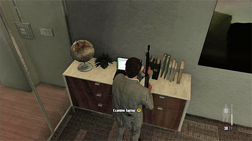 SECRET 2 [Clue 1/5 - Rodrigos Email]: On the table in the Victors Branco office (area where the chapter begins) - Clues and Golden Guns - Chapter VI - Collectibles - Max Payne 3 - Game Guide and Walkthrough