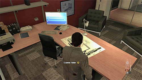 SECRET 3 [Clue 2/5 - File on Fabiana]: On the table in the Victors Branco office (area where the chapter begins) - Clues and Golden Guns - Chapter VI - Collectibles - Max Payne 3 - Game Guide and Walkthrough