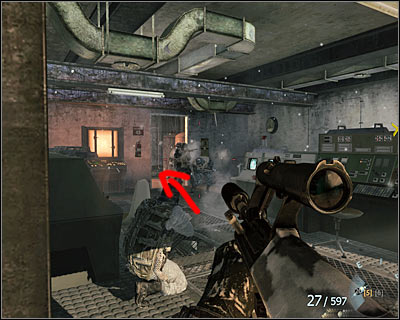 After quietly eliminating all enemies on the surface, you will reach much bigger room with a radar on the wall - WMD | Intel - Intel location - Call of Duty: Black Ops Game Guide & Walkthrough