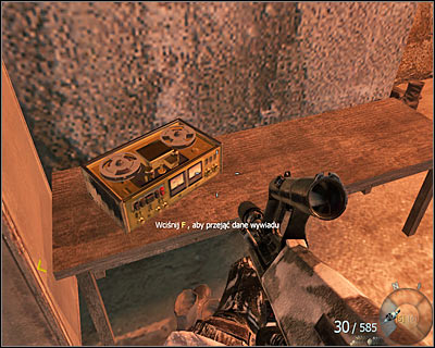 The secret is situated on a small table - WMD | Intel - Intel location - Call of Duty: Black Ops Game Guide & Walkthrough