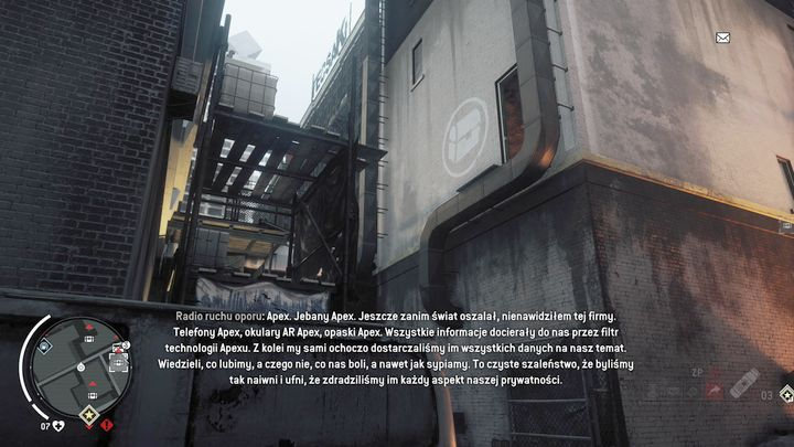 The third warehouse is shown above - Forbidden Zone | Journals and jobs - Journals and jobs - Homefront: The Revolution Game Guide & Walkthrough