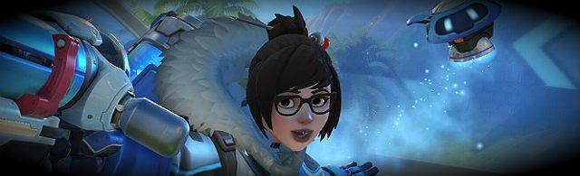 Mei jest przykładem naukowca, który walczy o ratowanie przyrody - Charakterystyka bohaterów i ich kontry - Bohaterowie - Overwatch - poradnik do gry