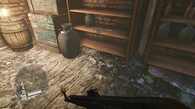 The location of the 2 collectible. - Mission 3 - Collectibles - Enemy Front - Game Guide and Walkthrough