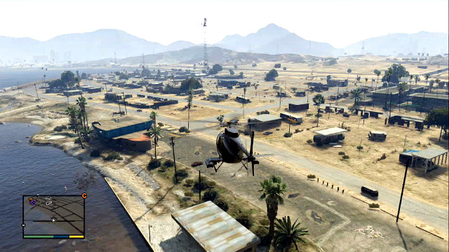 Helicopter is better for accurate landing - Using airplanes and helicopters - Basics - Grand Theft Auto V Game Guide