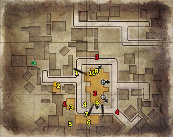 1 - Mission 5   Wine Bottles and Gold Bars - Wine Bottles and Gold Bars - Sniper Elite V2 Game Guide & Walkthrough