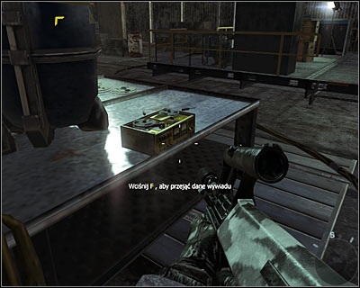 The secret is situated on one of the tables near the blue barrow - WMD | Intel - Intel location - Call of Duty: Black Ops Game Guide & Walkthrough